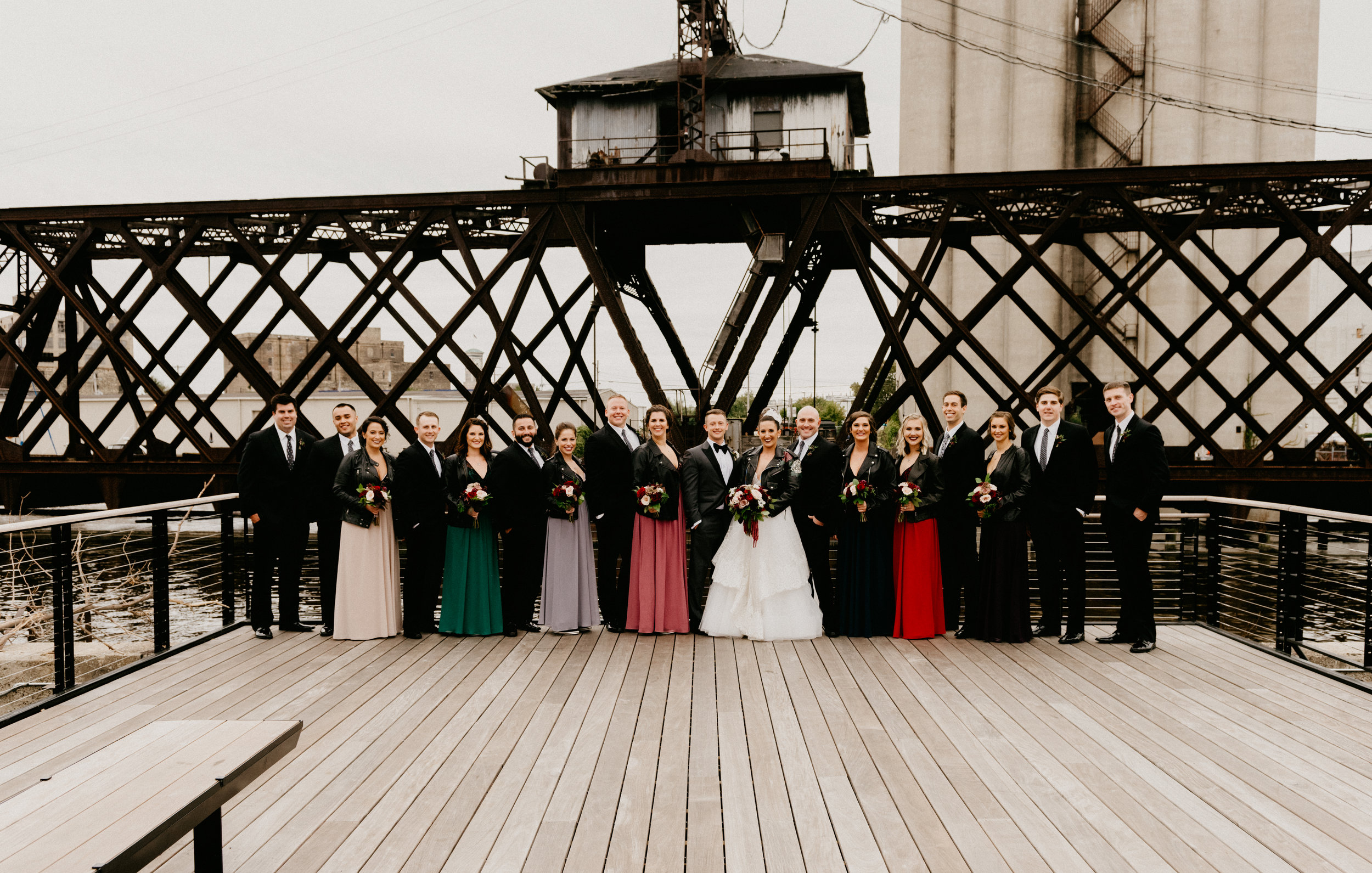 Milwaukee Wedding Bridal Party Studio 29 Photography
