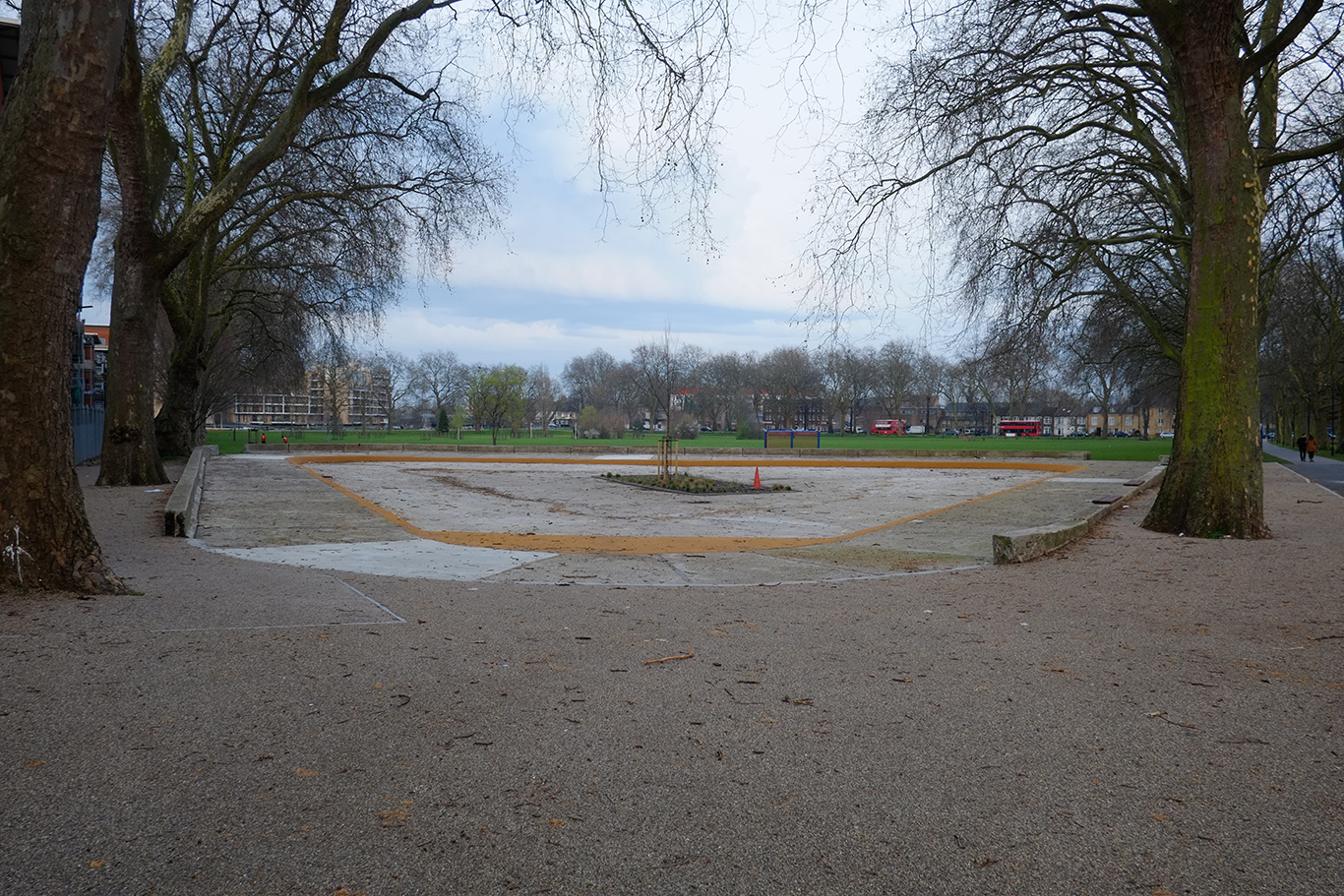 Cine-Theatre Millfields Site The Old Paddling Pool