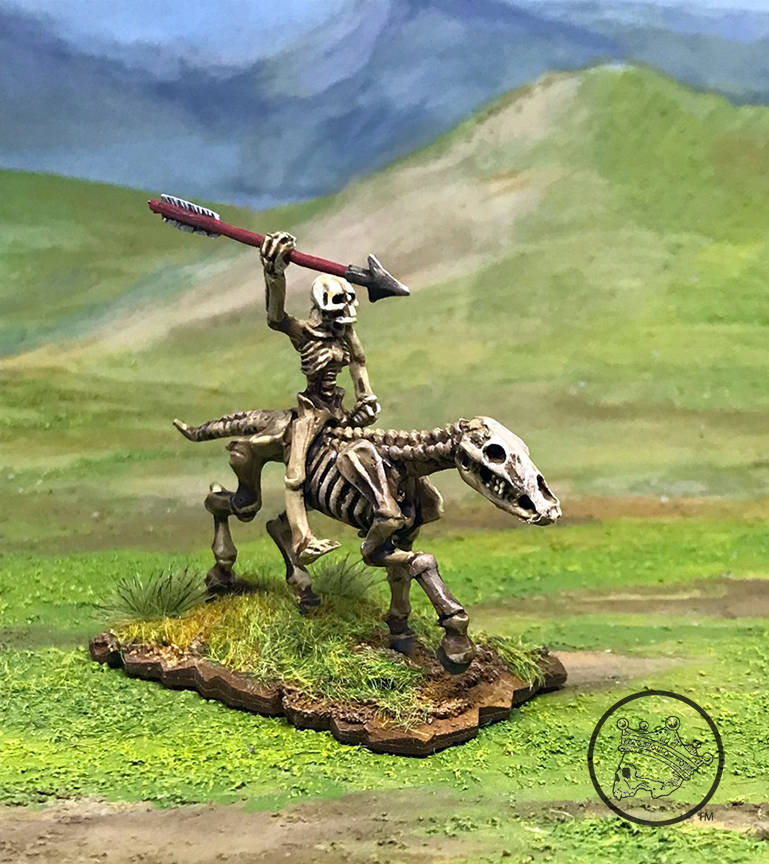 Triumph of Death Skull and Crown  Cav with Dart painted V101.jpg