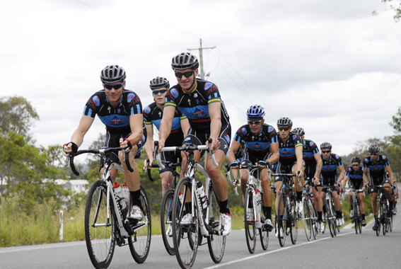 The 2012 Mainline Masters cycling team