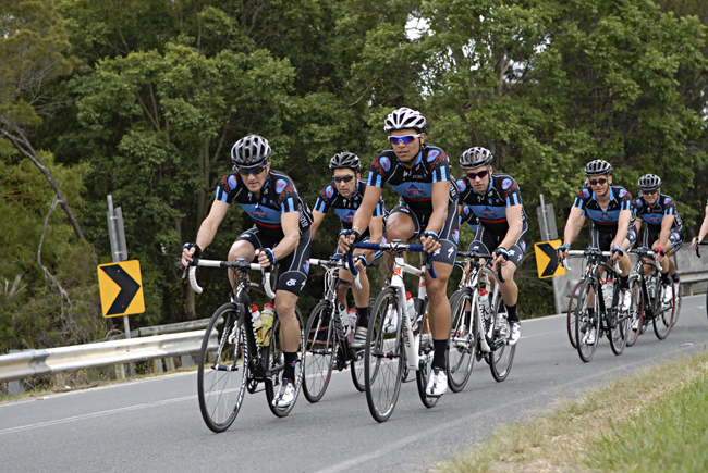 Mainline masters cycling team Queensland Australia