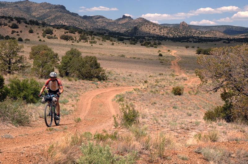 Ride The Divide Matt in Colorado