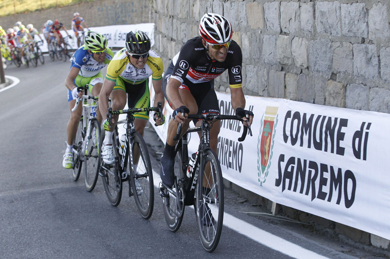 More grimacing as the 2012 Milan San Remo comes to a head