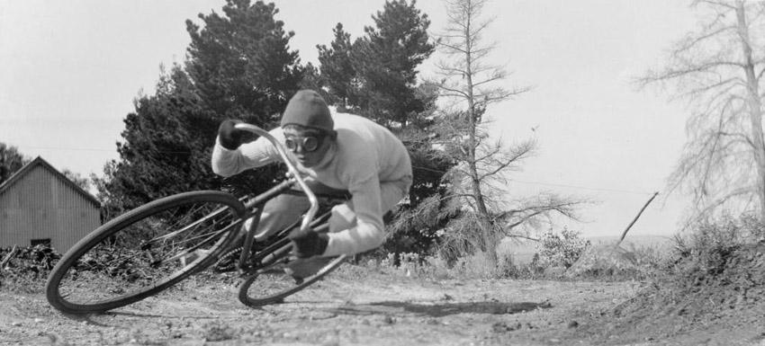 John Bange, pilot, cyclist, motorcyclist.