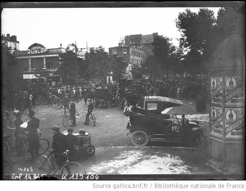 Départ du Tour de France 1911