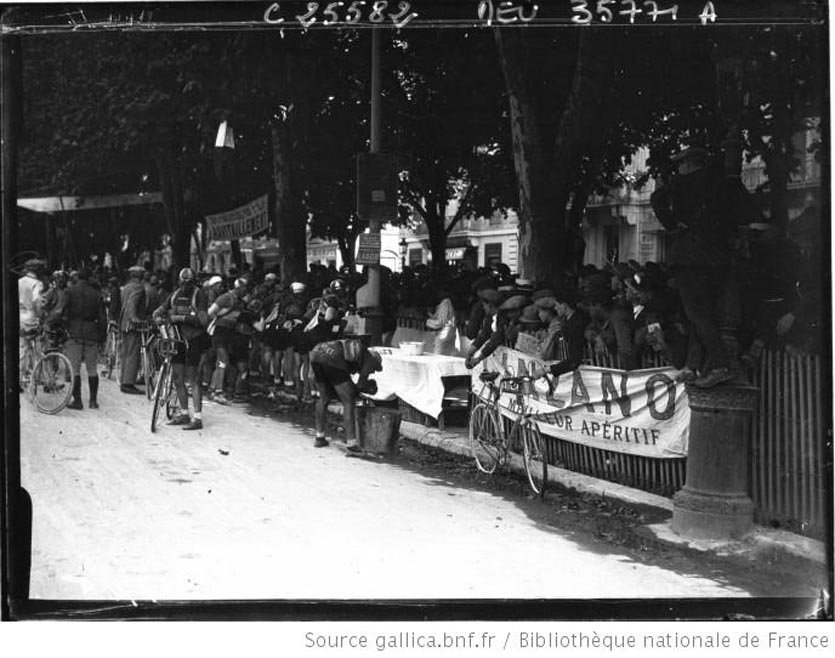 Ravitaillement de Nîmes 1926