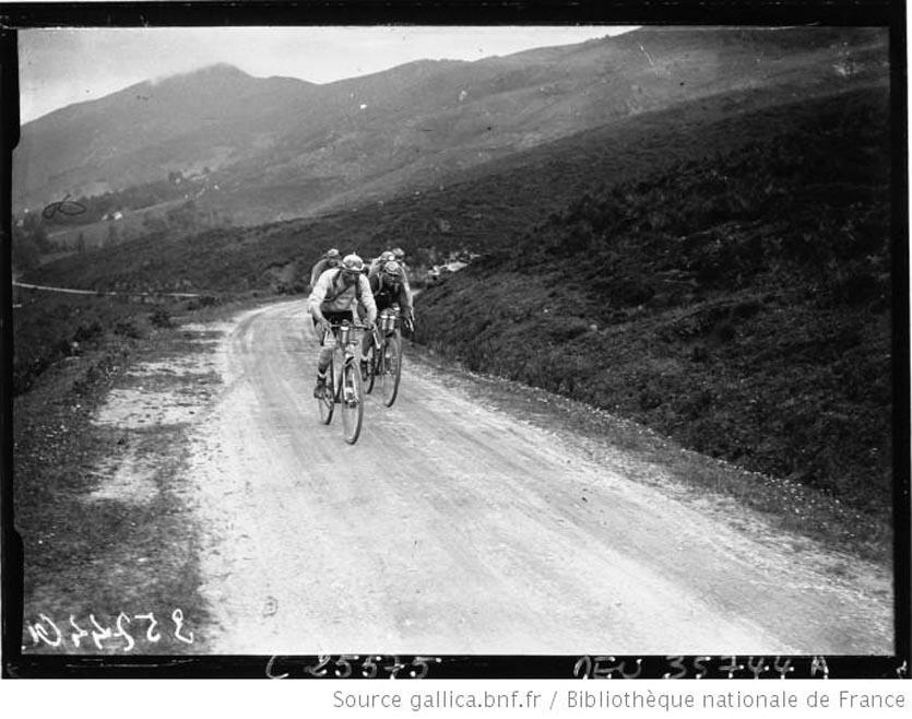 Tour de France cycliste  Aymo et Jules Buysse