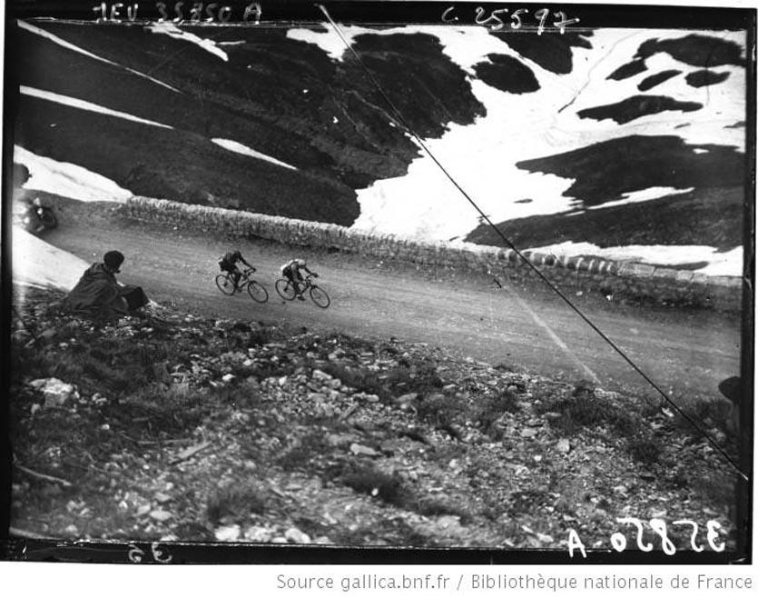 Passage au Galibier de Huysse et Parmentier 1926