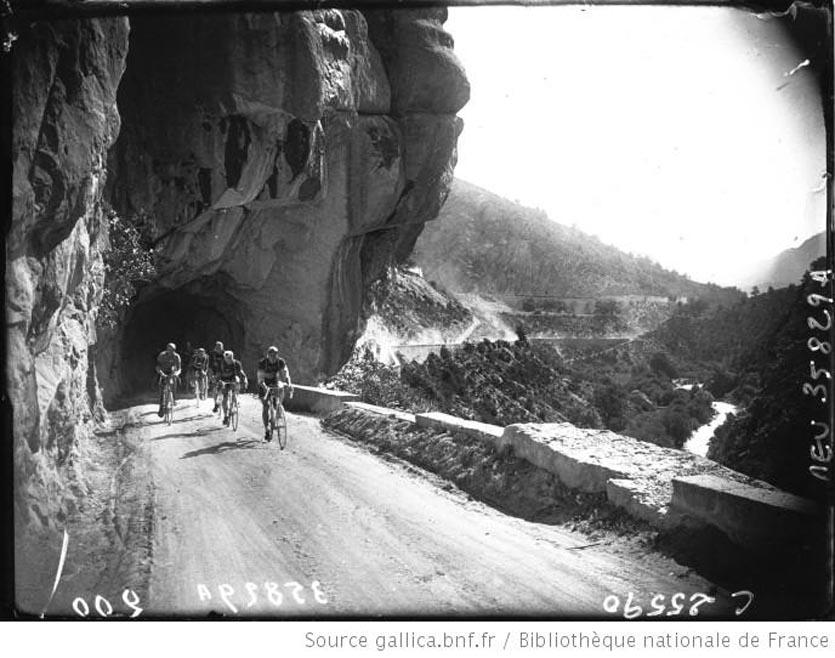 Tour de France cycliste  étape Nice-Briançon  dans les Scafarels, Moulet-Cuvelier