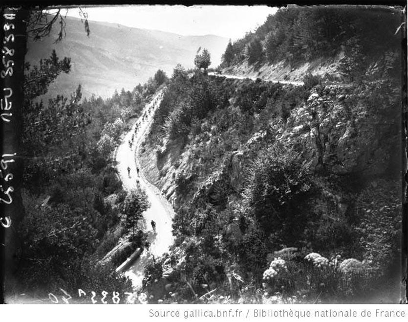 Montée de la Colle St Michel 1926