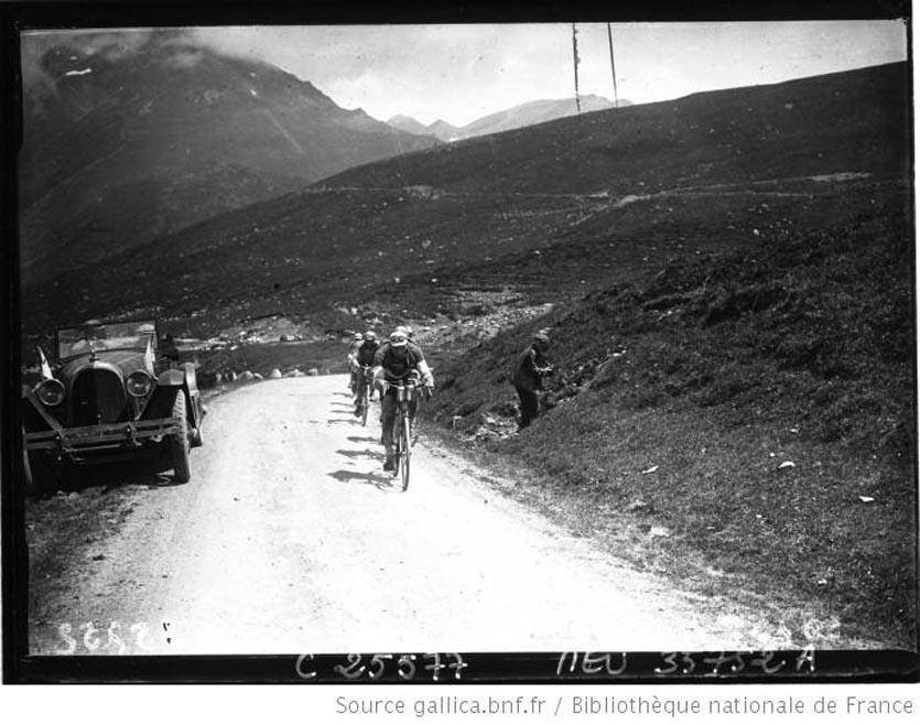 Frantz en tête du peloton 1926