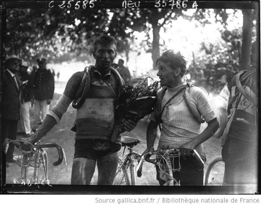 Tour de France cycliste  Frantz, Sellier et Bidot à Toulon