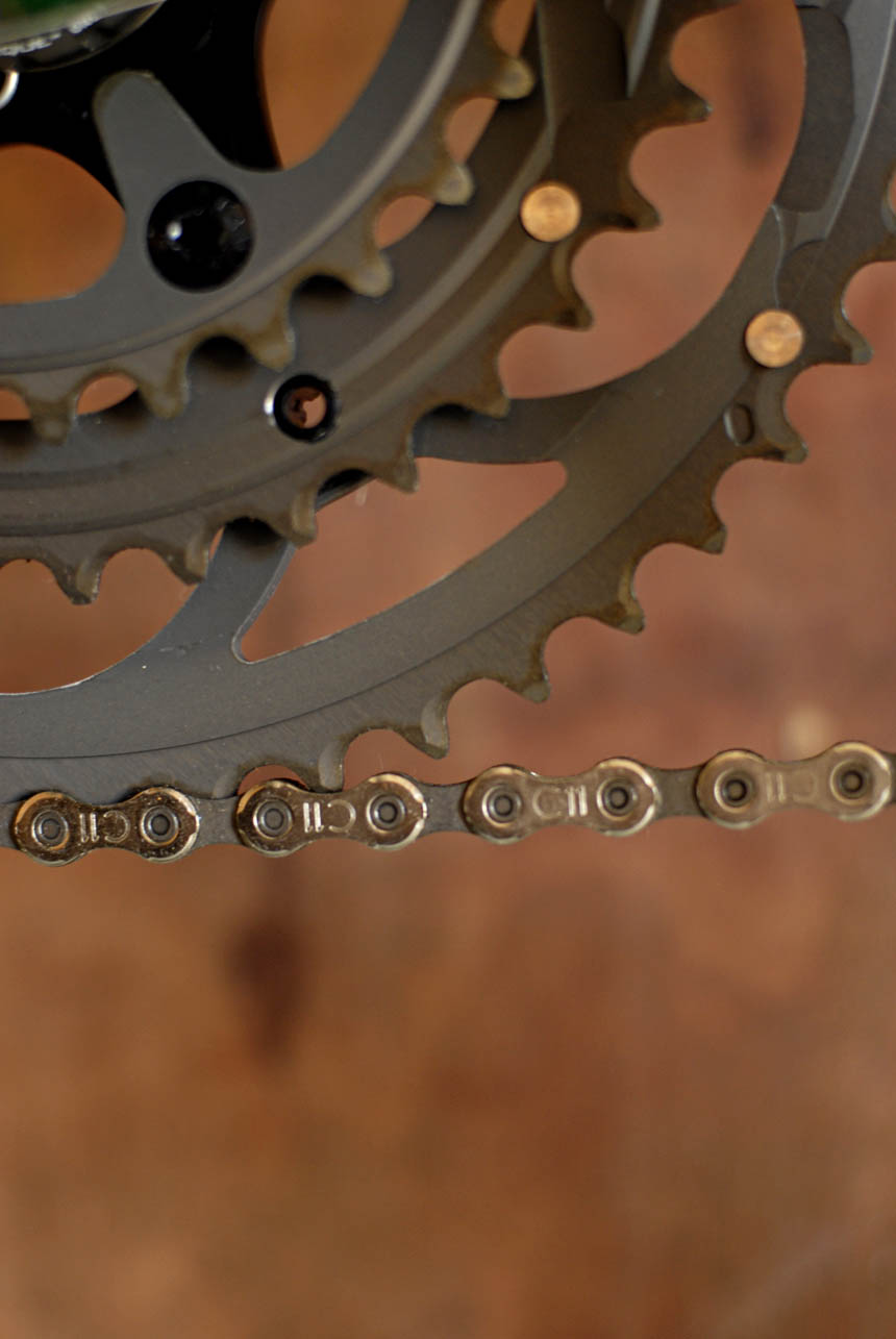 Athena Campagnolo triple chainrings