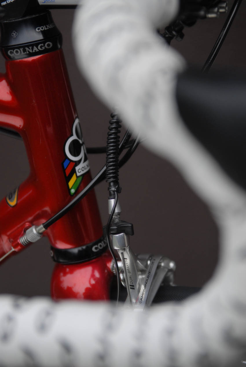 Murray's red Colnago C 50