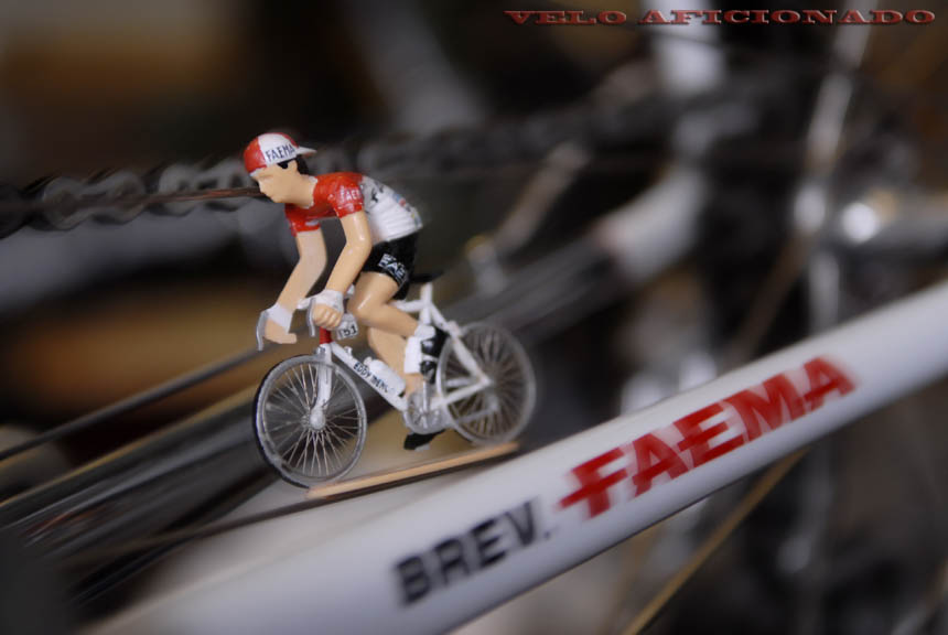 Narrow roads as Eddy Merckx takes to the tricky  Raggi Alpina  mountain descent