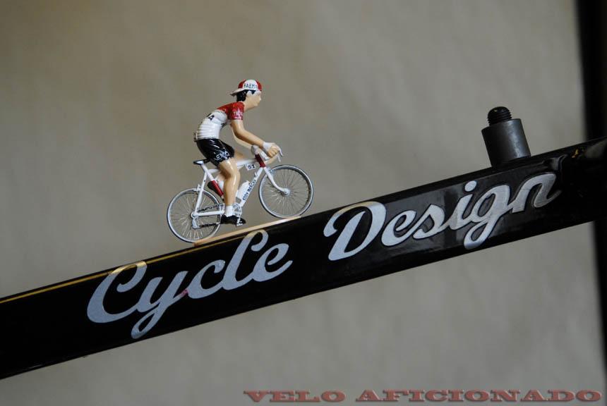Eddy Merckx on the final climb in Joe's shed.