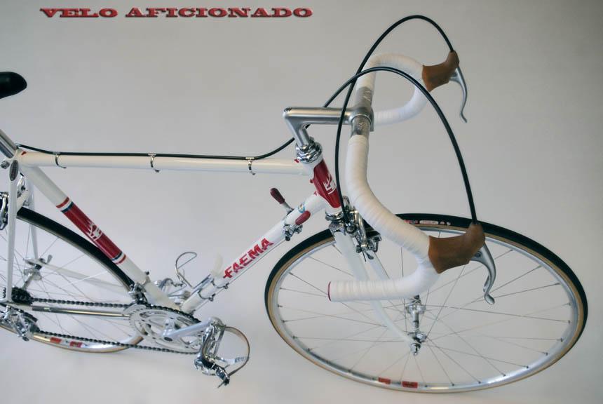 Joe Cosgrove's interpretation of the legendary Merckx Famea 1968 race bike