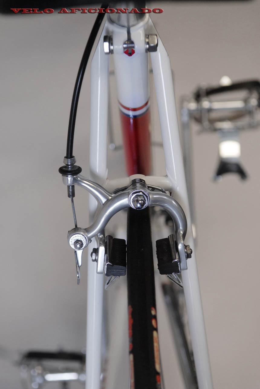Campagnolo on Joe Cosgrove's Merckx Faema