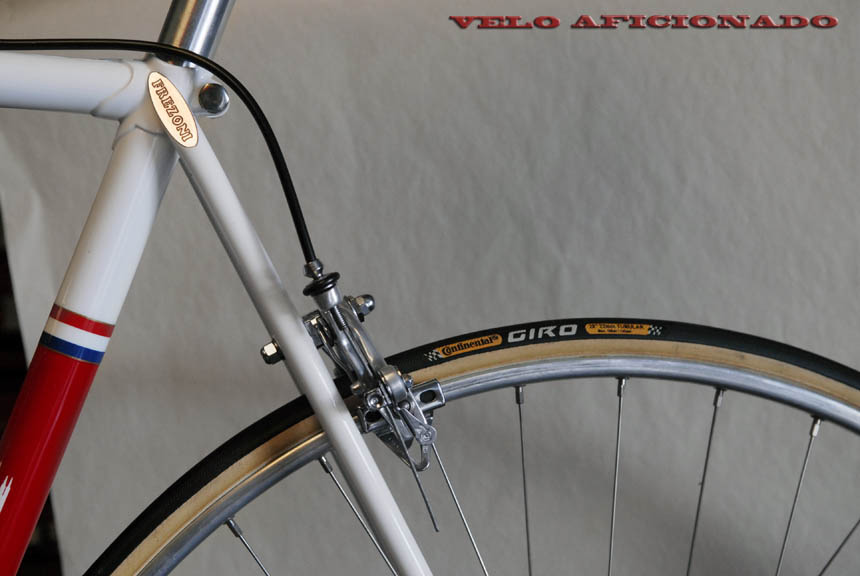 Styled on the original Merckx Faema, frame by Joe Cosgrove - Frezoni