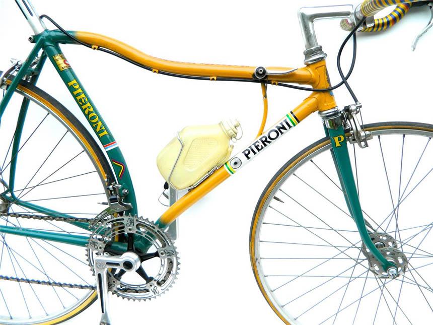 Italian bicycle experiment using Columbus tubes