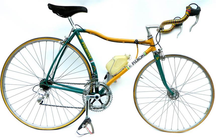 Pieroni crushed tube bicycle