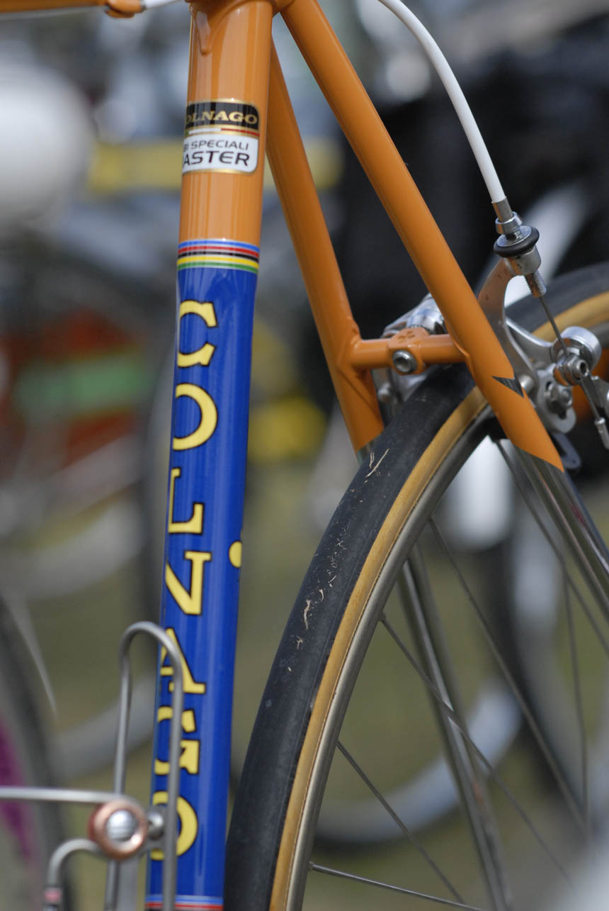 Colnago's all round the paddock