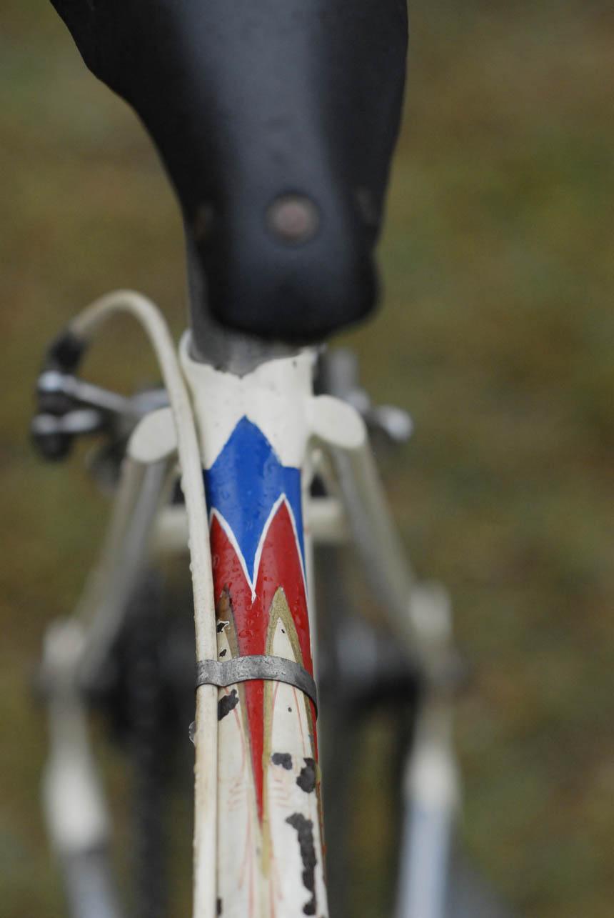 Jack Pesch's racing bike
