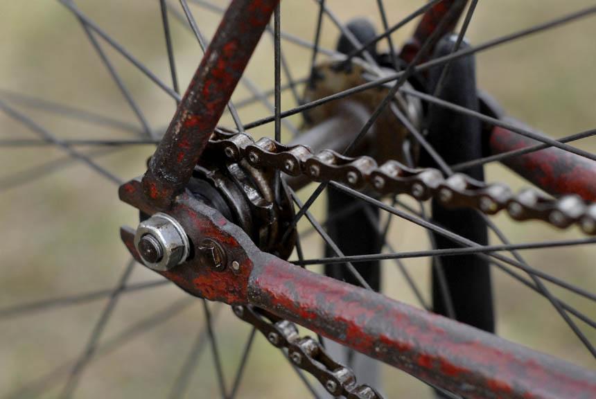 Hubert Oppermann's track stayer bike by Malvern Star