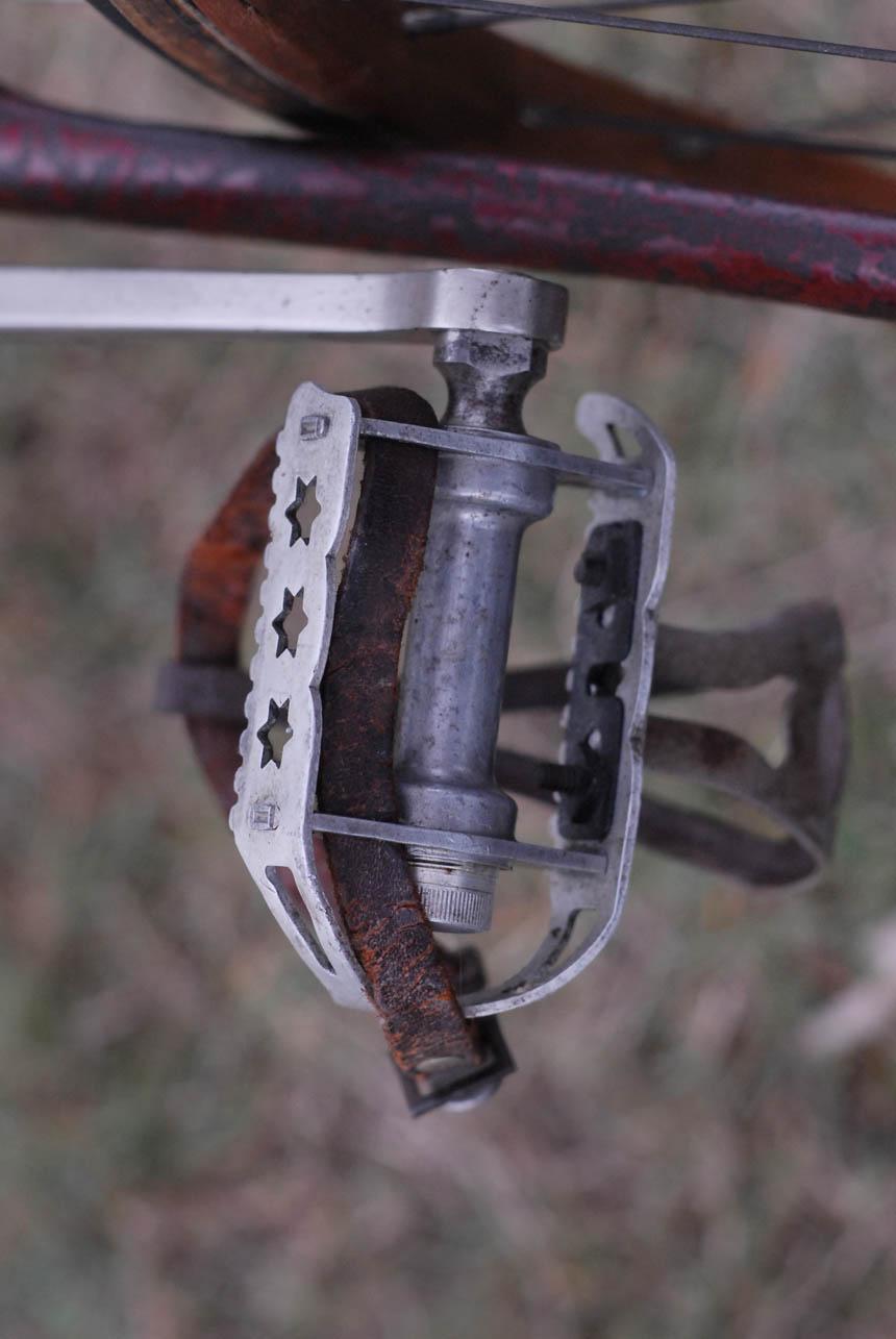 Hubert Opperman's star pedals
