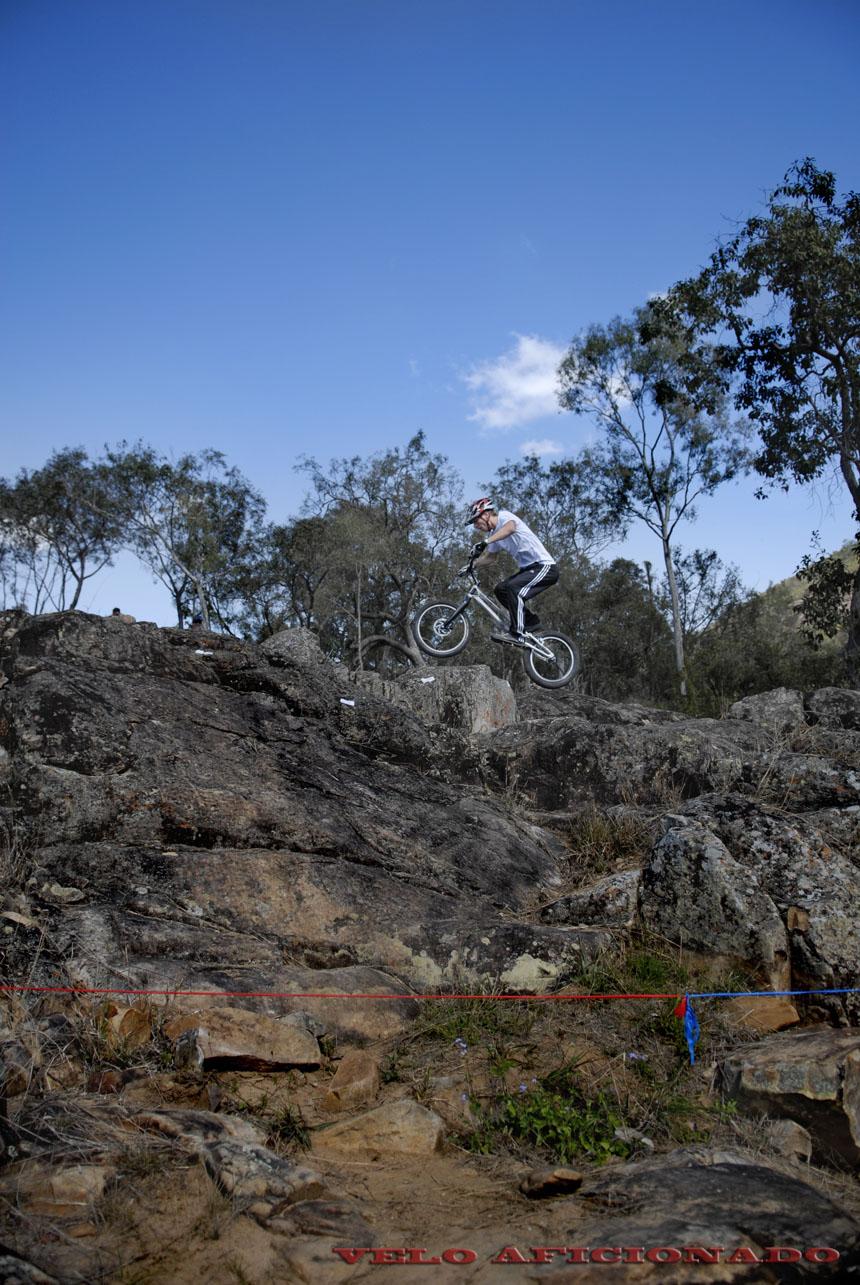 Spectacular scenery for bike trials in Australia