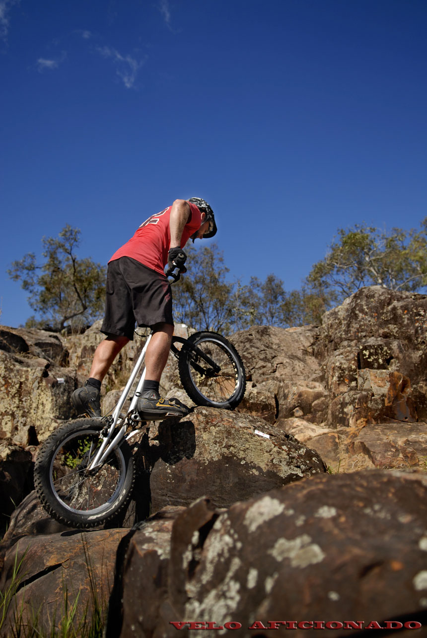 Rubber and stone at Rockatoo bike trials