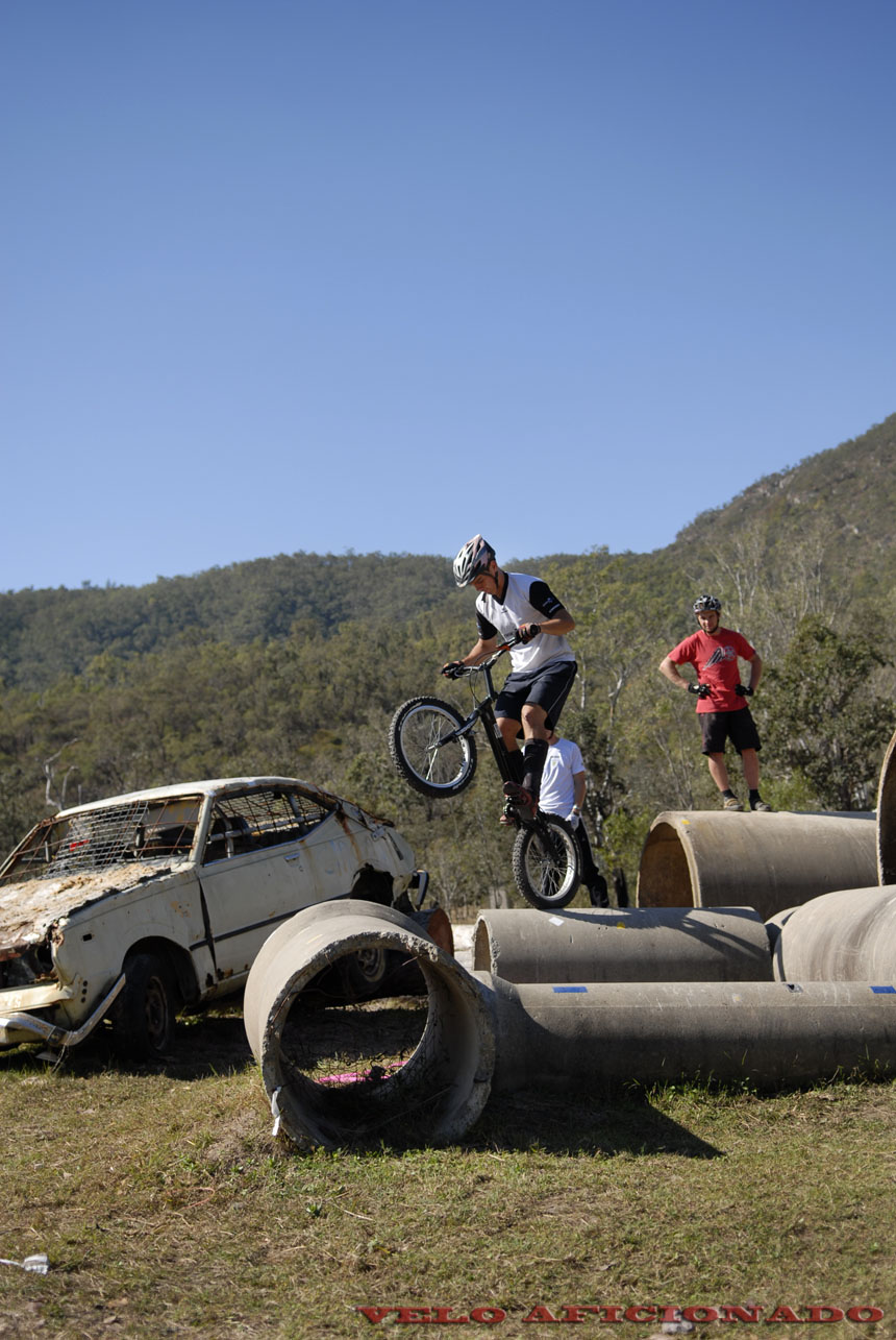 Bicycle trials in Australia