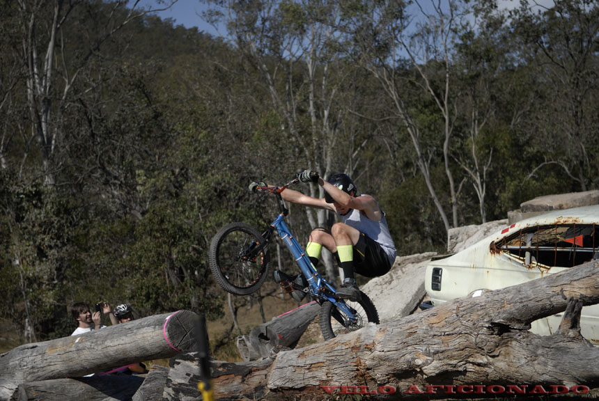 The picturesque hills surrounding Esk provide a stunning backdrop for the bike trails course at Rockatoo