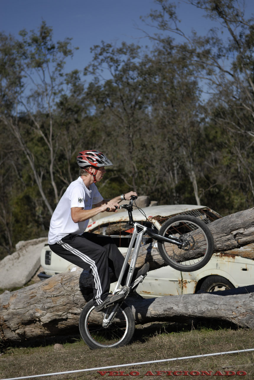 Bicycle trials in south east Queensland Australia