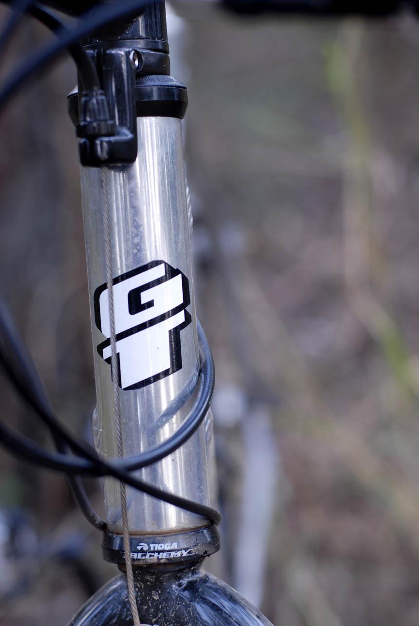 GT Zaskar head tube
