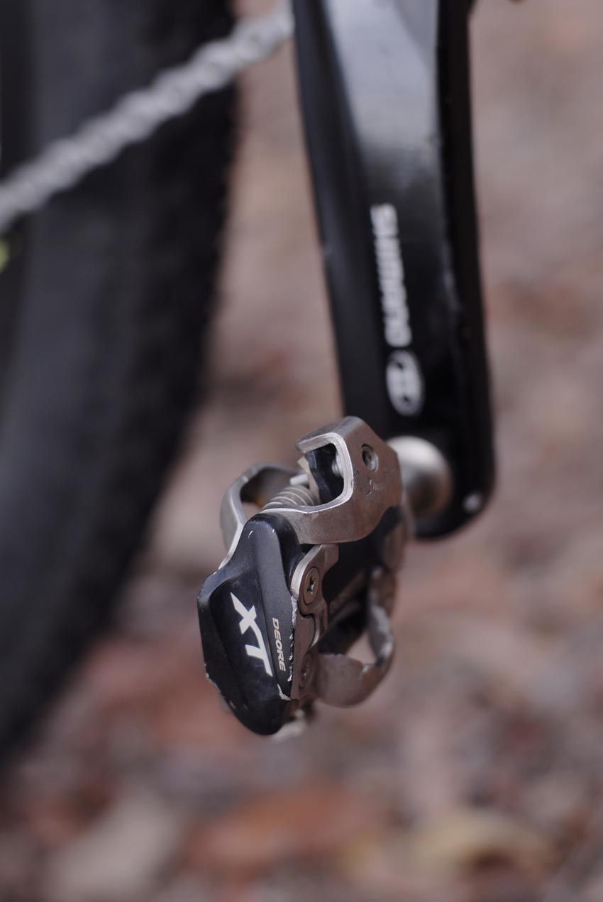 Shimano Deore XT pedals