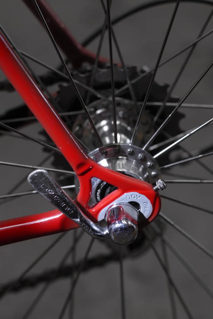 Eddy Merckx stamped rear drop outs
