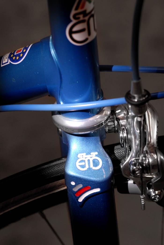 Detail Merckx fork crown