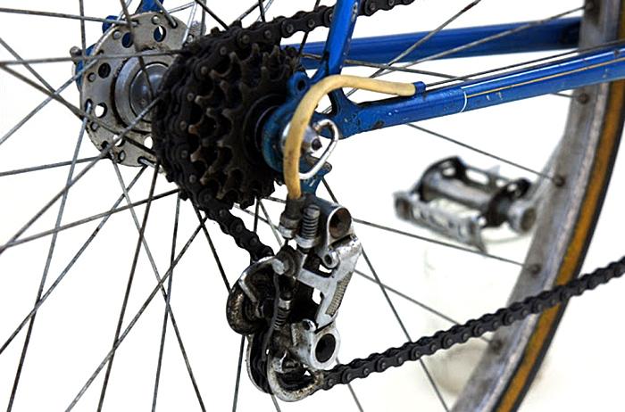 Rear derailer and 13-17 1-tooth step thread-on freewheel