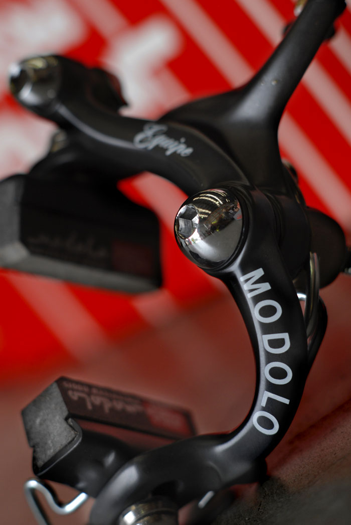 Modolo Equipe aimed at the enthusiastic amateur bike racer.