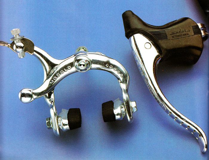 NOS Modolo /'Speedy/' Gold Brakes Brake Levers 1980s Campagnolo Made in Italy