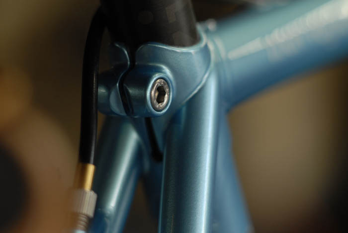 Llewellyn custom bike top eyes inspired by bianchi.