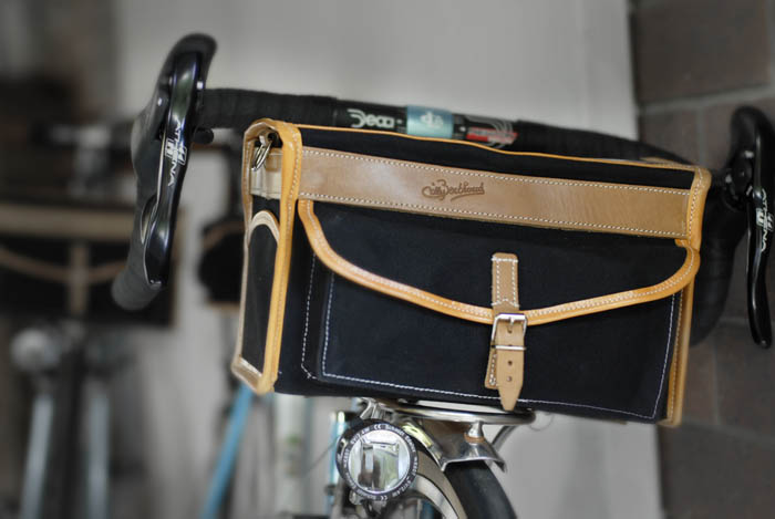 Giels Berthoud cycling bag