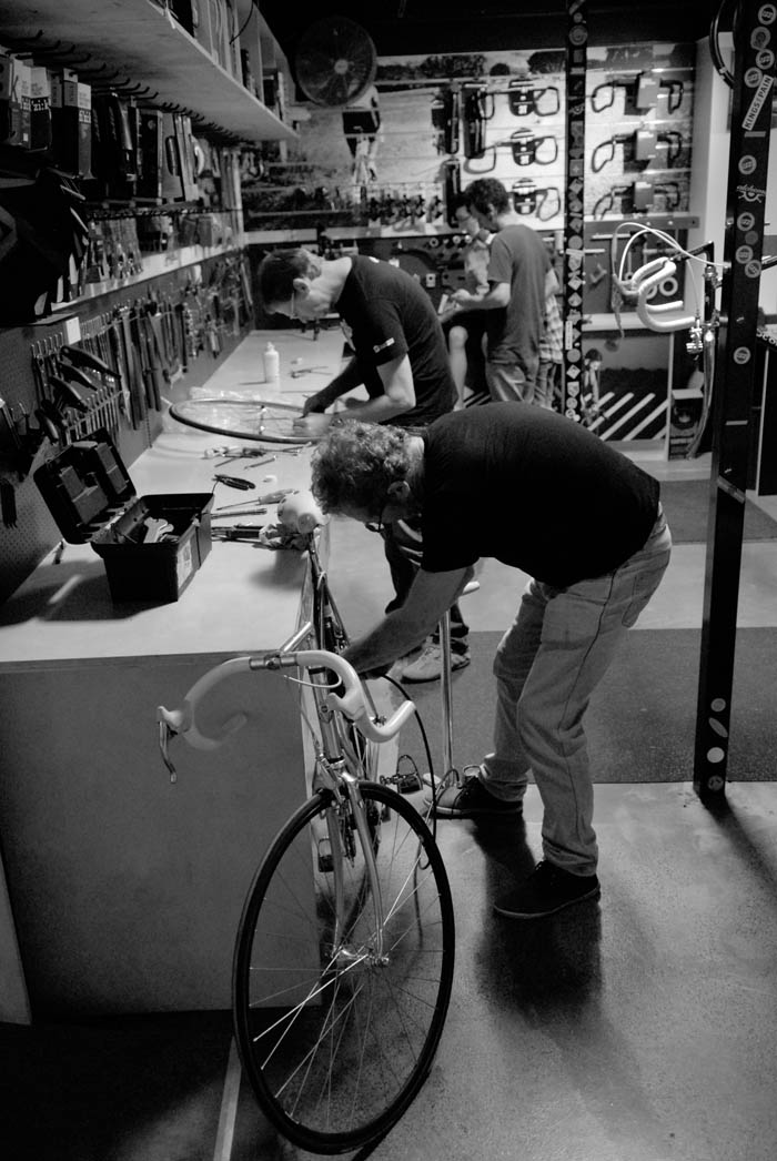 It was a bit of a rush as things heated up in the Crankstar workshop