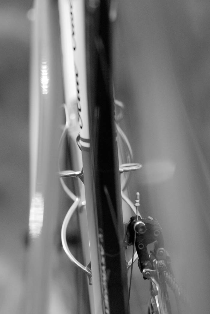 A Ewen Gellie custom road bike.