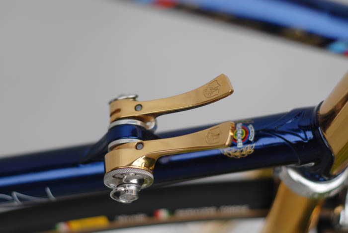 Corsa Record friction gear levers.