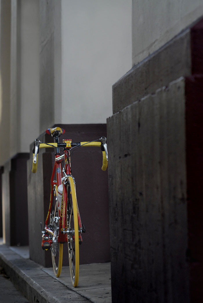 Saeco Cannondale CAAD4 Mario Cipollini team issue replica race bike.