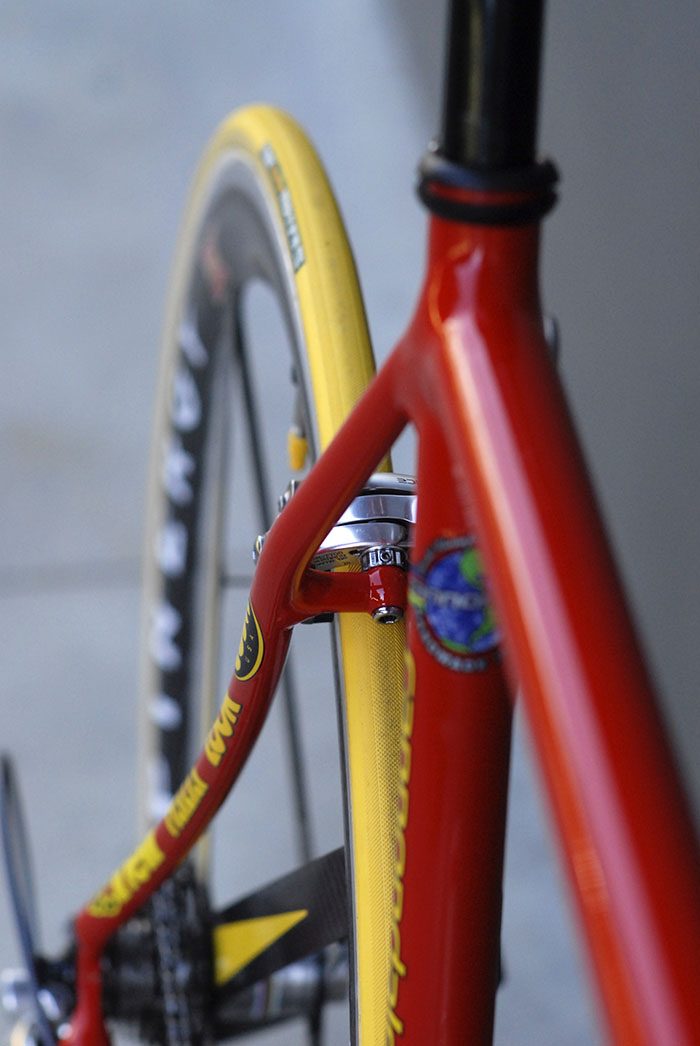 Sinuous curves of a Cannondale CAAD 4