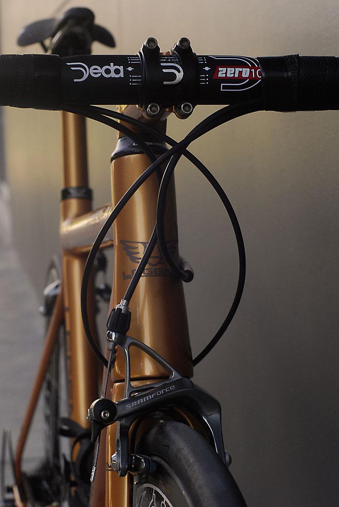 Bertoletti Bicycles HT 9.5 with Deda 100 handlebars