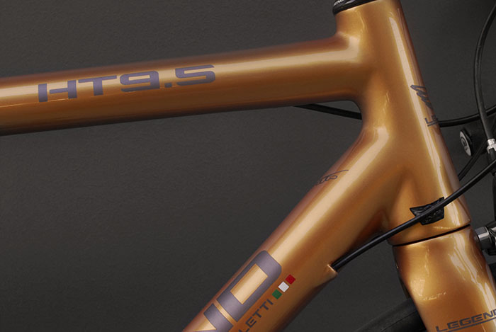 Customise the graphics, paint, laser etching just about any aspect can be considered for customising your Legend Bicycle.